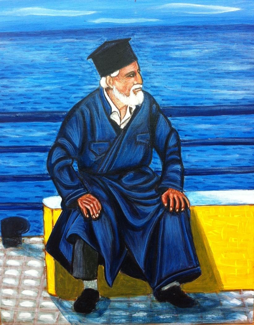 Greek island priest