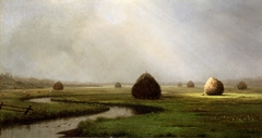 Hazy Day on the Marshes, New Jersey