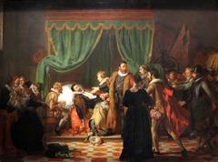 Het sterfbed van Willem van Oranje by Woutherus Mol