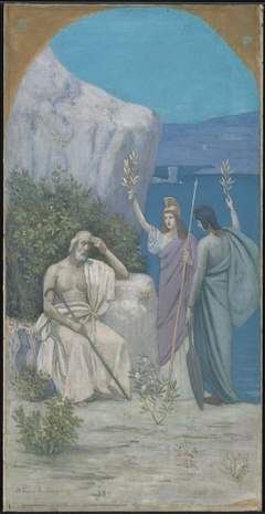 Homer: Epic Poetry (reduction of a mural in Boston Public Library)