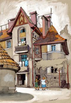 Hust. Czech town