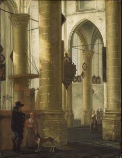 Interior of the Groote Kerk, Dordrecht