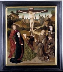 Kruisdood van Christus met de stigmatisatie van Franciscus