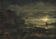 Landscape in Moonlight