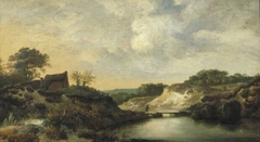 Landscape in the Dunes
