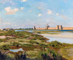 Landscape of Aigues-Mortes