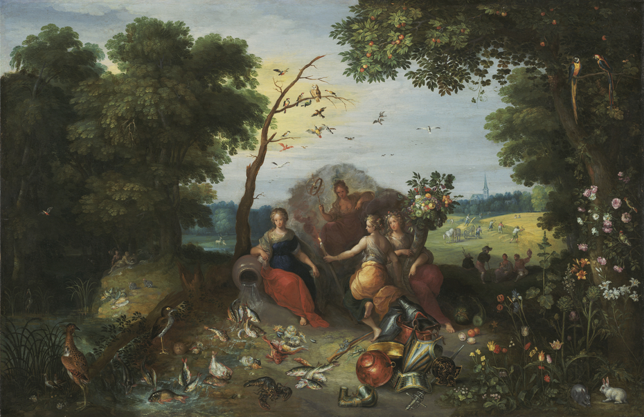 Landscape with Allegories of the Four Elements