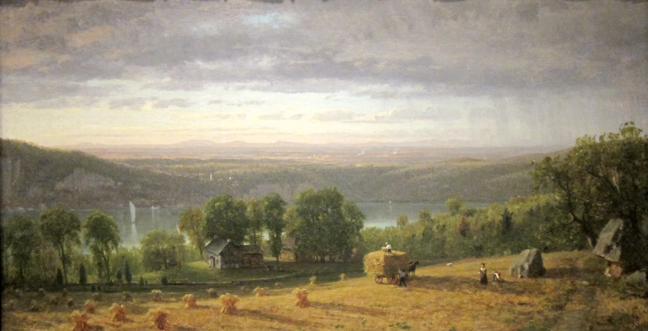 Landscape with Haywain