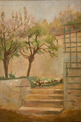 Landscape with Small Stairs