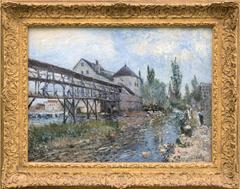 Le moulin à eau Provencher à Moret
