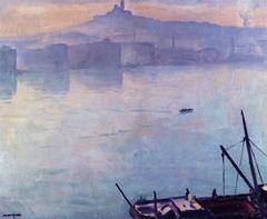 Le Port de Marseille, 1918