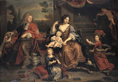 Louis, the Grand Dauphin of France with his Family
