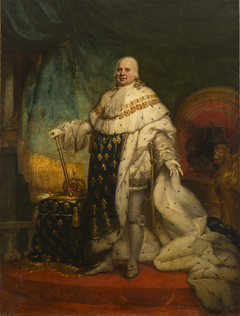 Louis XVIII of France in Coronation Robes
