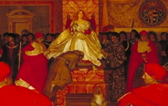 Lucretia Borgia Reigns in the Vatican in the Absence of Pope Alexander VI (detail)