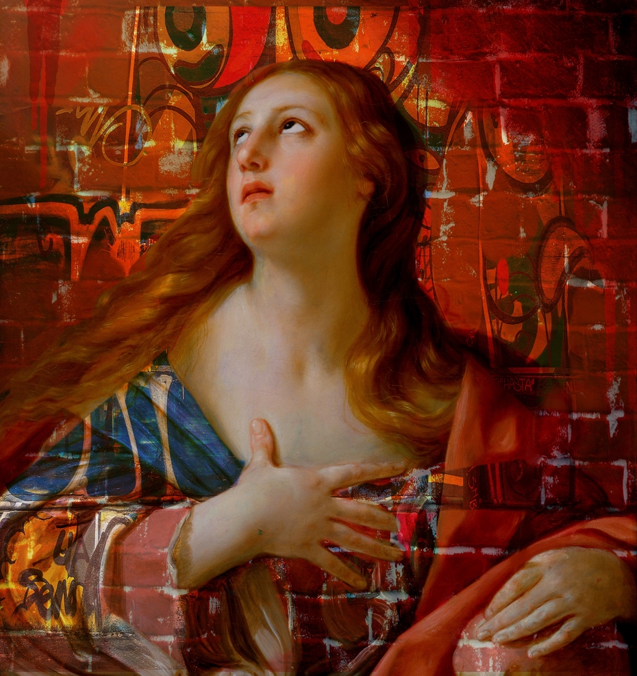 ''Magdalena'' A tribute to Guido Reni