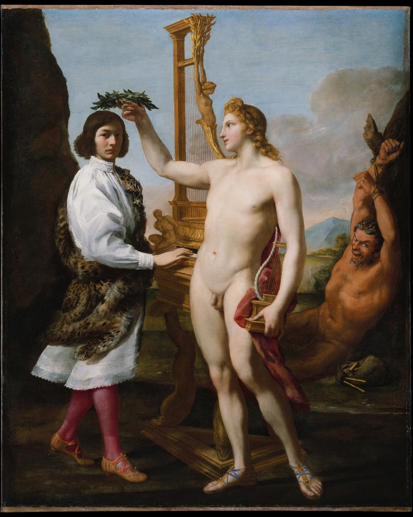 Marcantonio Pasqualini (1614–1691) Crowned by Apollo