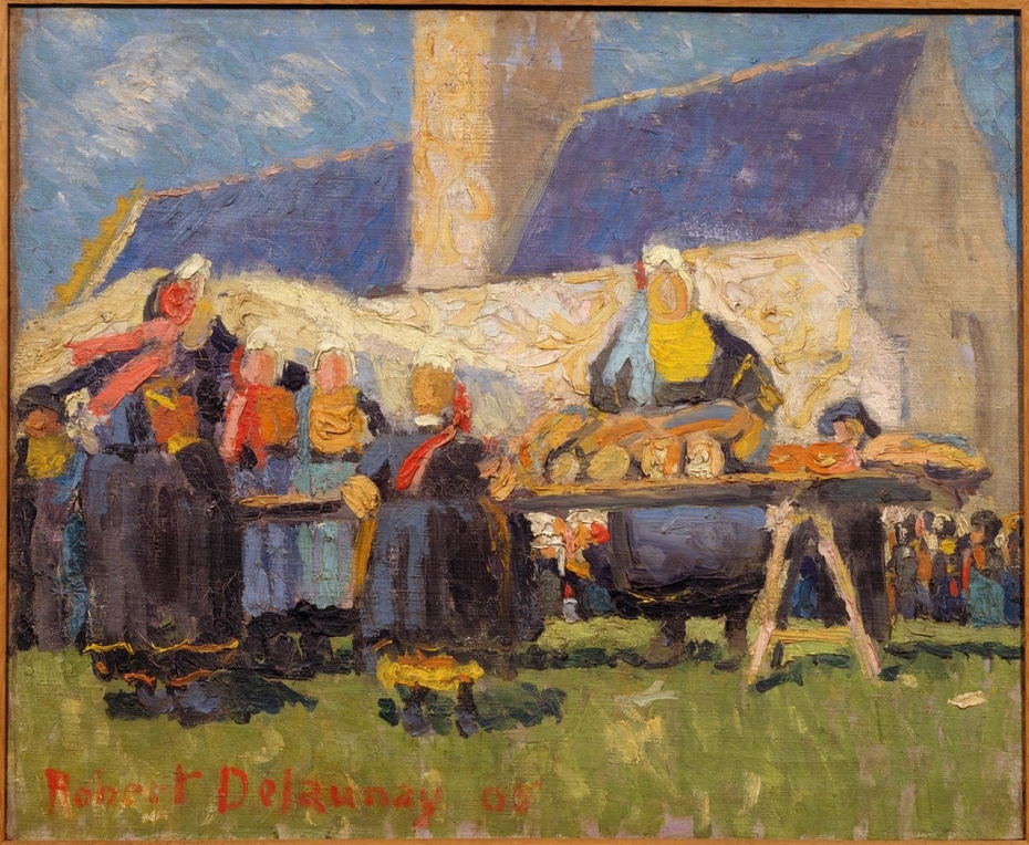Market in Brittany