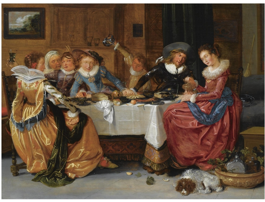 Merry Company at a Table
