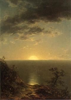Moonrise on the Coast