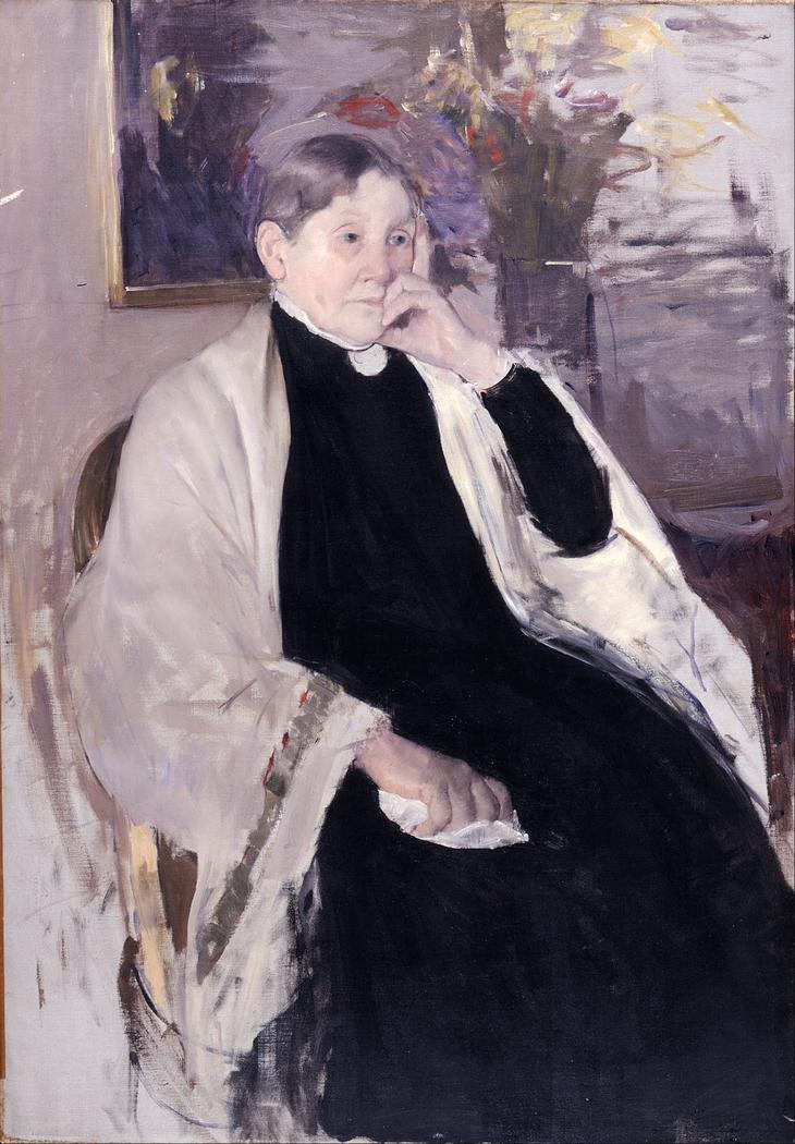 Mrs. Robert S. Cassatt, the Artist's Mother