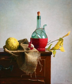 Natura morta con zucca / Still life with pumpkin