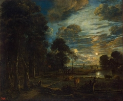 Night Landscape with a River