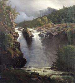Norwegian waterfall