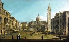 Painting of the Church of Santa Maria Formosa, Venice