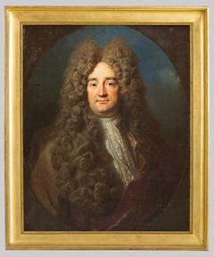 Portrait d'un homme au jabot à dentelle