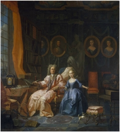 Portrait of a Man and his Daughter