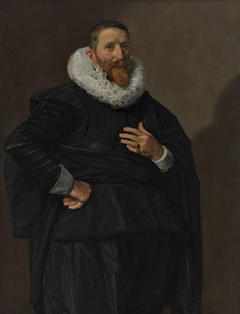 Portrait of a man called Johannes Saeckma