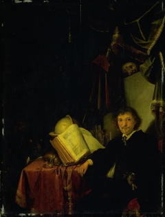 Portrait of a Man in an Interior