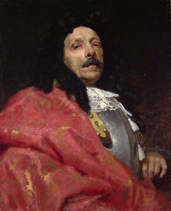 Portrait of a Man in Baroque Costume