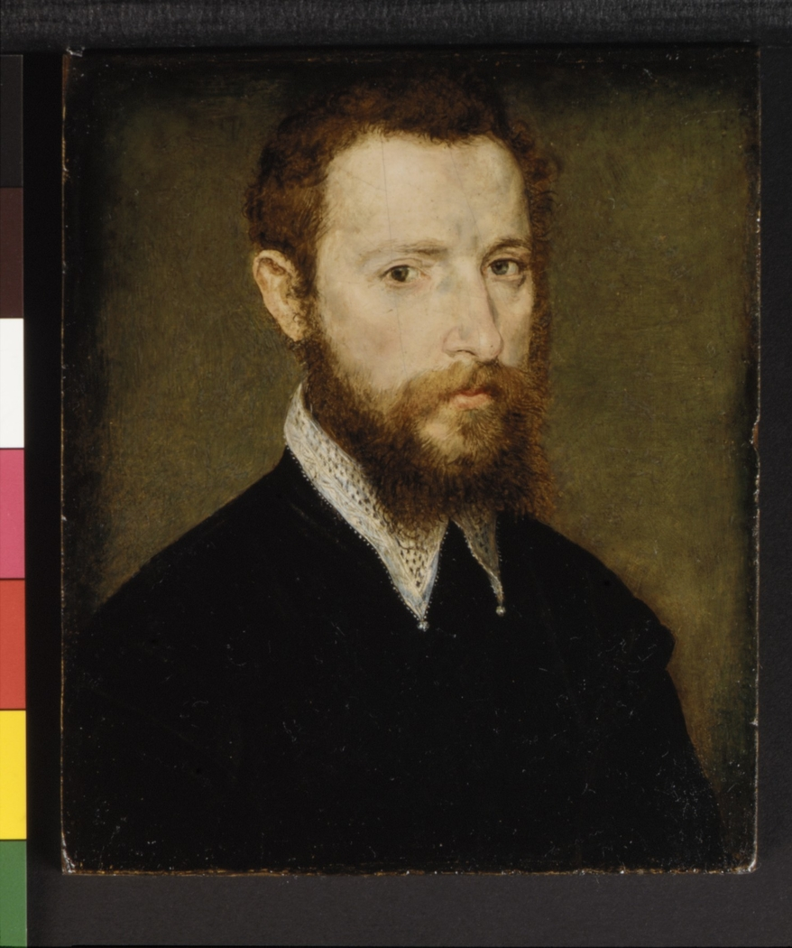 Portrait of a Man with a Pointed Collar