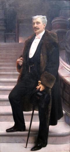 Portrait of Comte d'Adhémar de Cransac