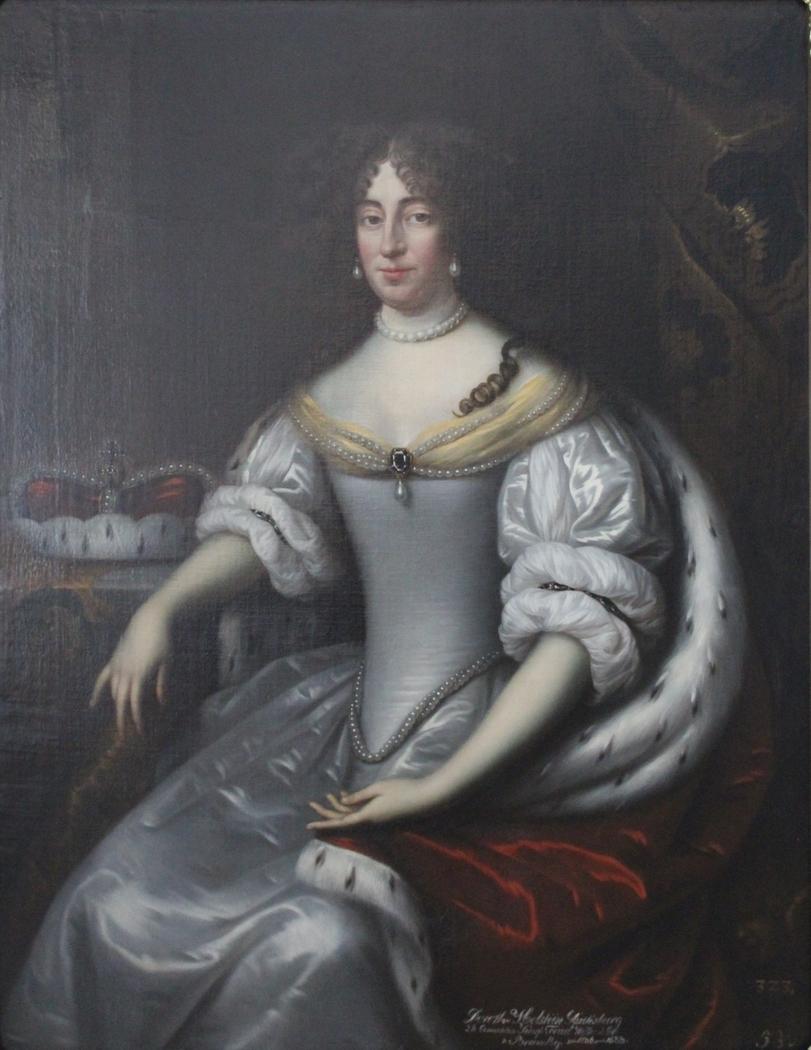 Portrait of Dorothea Sophie von Schleswig-Holstein-Sonderburg-Glücksburg