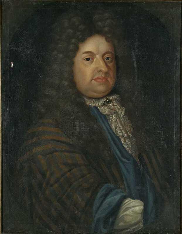 Portrait of Eggert Stockfleth