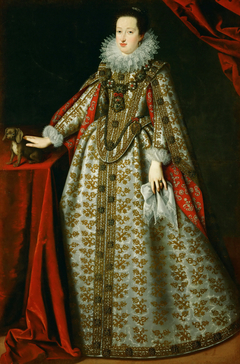Portrait of Eleonore von Gonzaga (1598-1655), wife of Ferdinand II