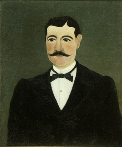Portrait of Frumence Biche in Civilian Clothes