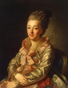 Portrait of Grand Duchess Natalia Alexeyevna