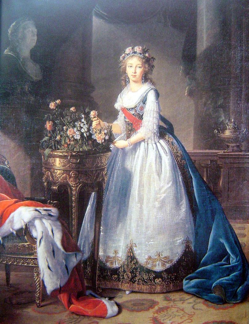 Portrait of Grand Duchess Yelizaveta Alexeyevna