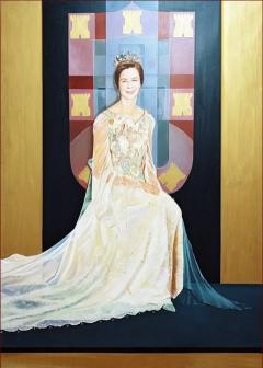 Portrait of H.R.H Isabel de Heredia Duchess of Bragança