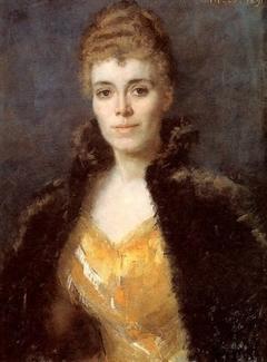 Portrait of Marie Henriette Rochussen (1858-1956)