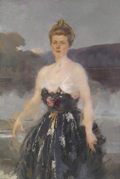 Portrait of Mrs. Albert J. Beveridge (Catherine Eddy; Lady Primrose Portrait)