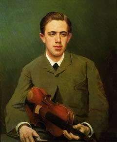 Portrait of Nikolai Ivanovich Kramsky