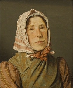Portrait of old Peasant Woman