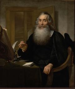 Portrait of Petrus Scriverius
