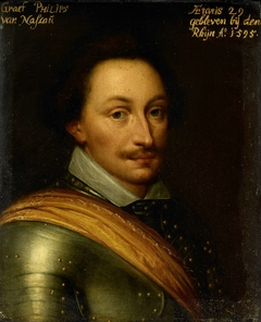 Portrait of Philip, Count of Nassau, Governor of the Town of Nijmegen