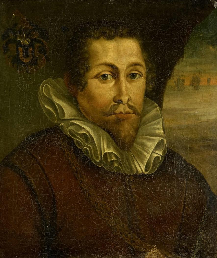 Portrait of Pieter Willemsz Verhoeff (c. 1573-1609)
