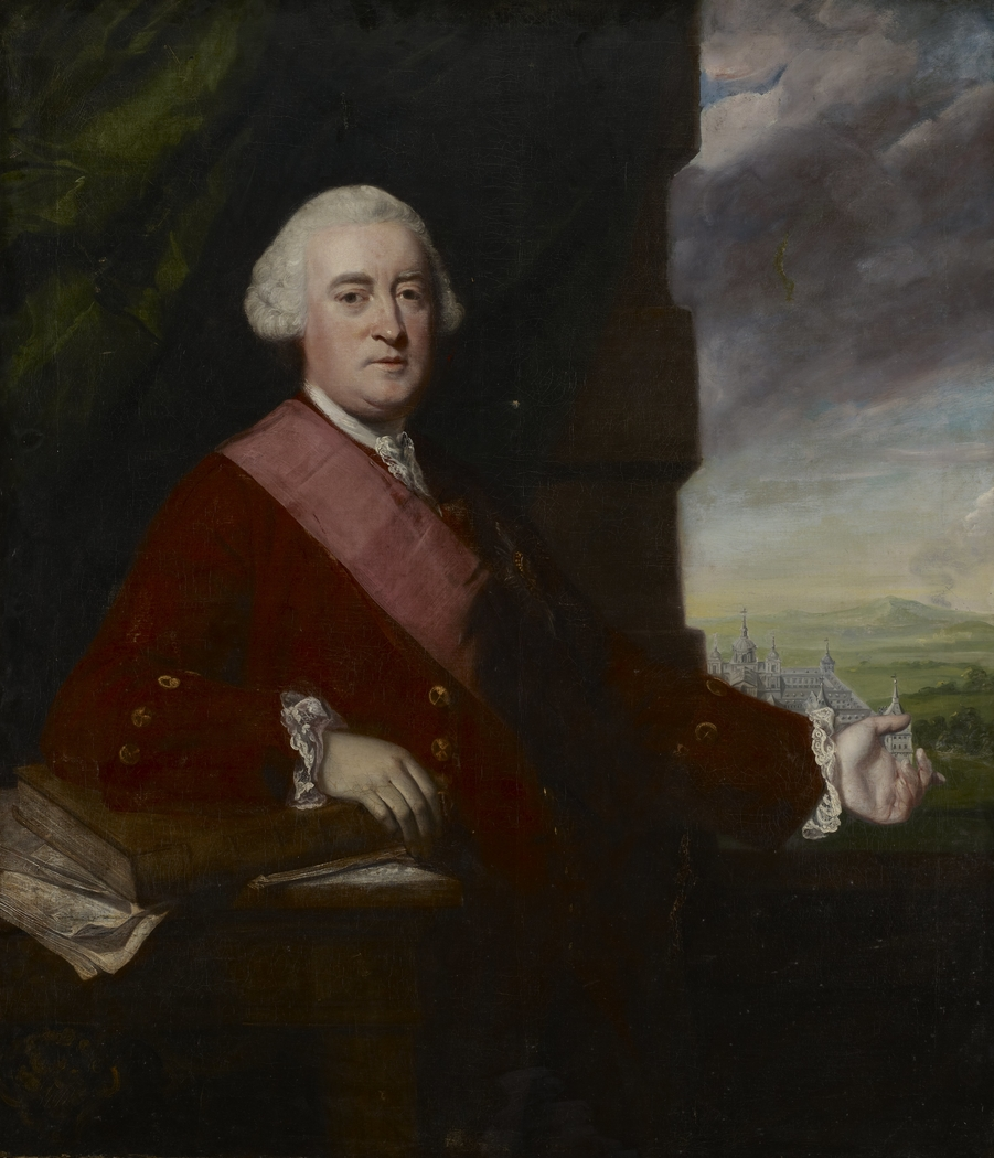 Portrait of Sir James Gray